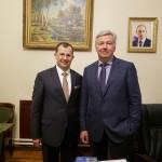 С Александром Савенковом