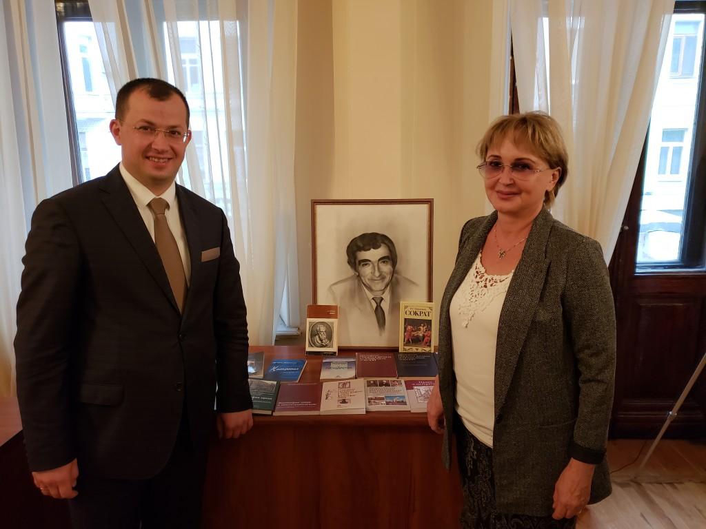 С Валентиной Лапаевой
