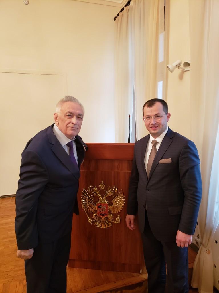 С Владимиром Графским
